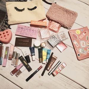 Tarte Too Faced Ipsy Huge Makeup Skincare makeup Case Bundle Full & Trial
